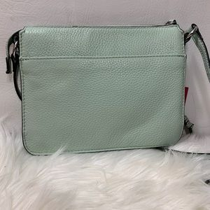 """Vince Camuto """"Agnes"""" Mint Leather Crossbody"""
